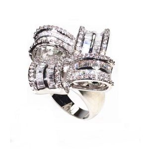 Now Swarovski Crystals Luxury Cocktail Ring